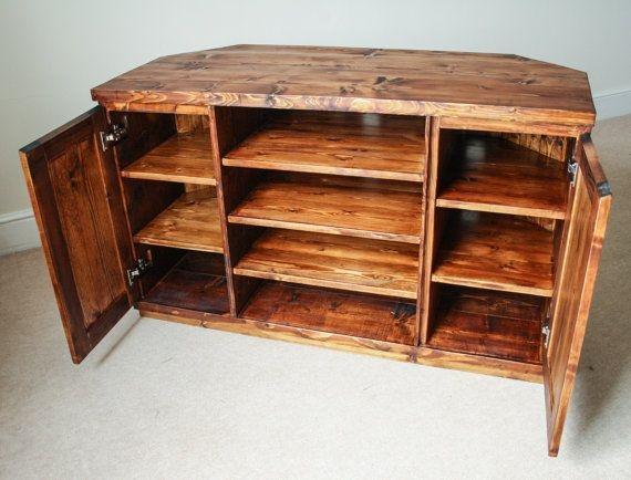 Stunning Preferred Dark Oak Corner TV Cabinets For Best 20 Wooden Corner Tv Unit Ideas On Pinterest Wooden Tv (Image 44 of 50)