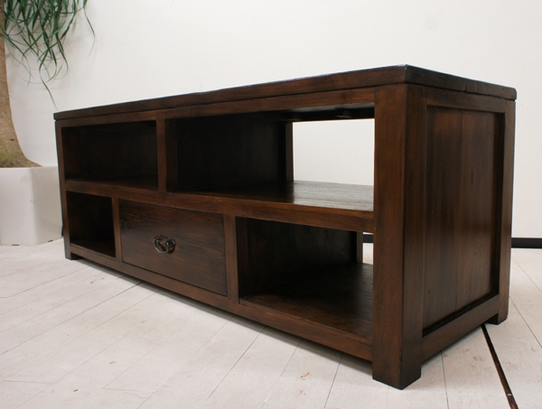Stunning Preferred Dark TV Stands In Yayapapus Rakuten Global Market Asian Home Furniture Bali (Image 46 of 50)