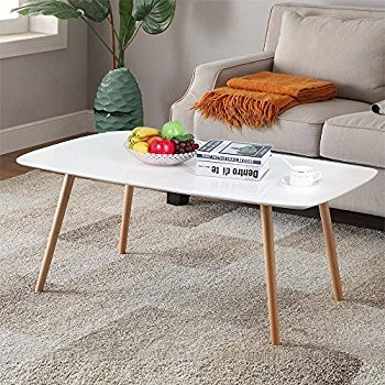 Stunning Preferred Gloss Coffee Tables With Amazon Convenience Concepts Oslo Coffee Table White Kitchen (View 48 of 50)