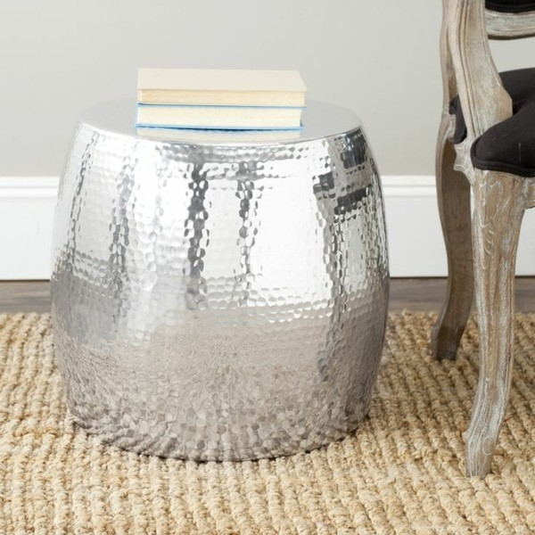 Stunning Preferred Hammered Silver Coffee Tables With Regard To Round Silver Coffee Table (Image 46 of 50)