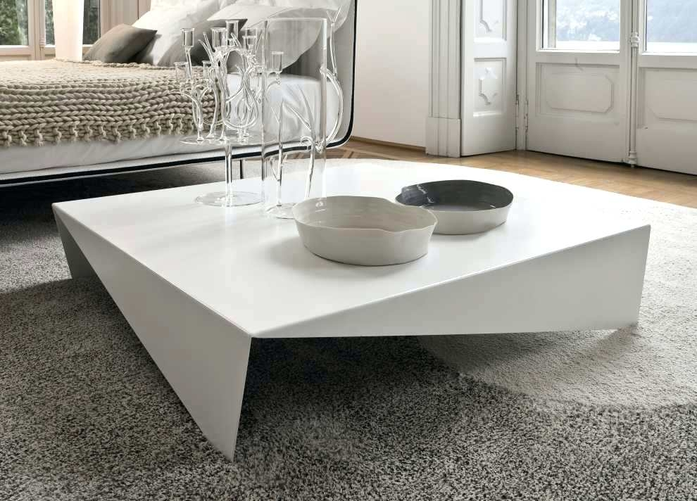 Stunning Preferred Large Low Level Coffee Tables Inside Coffee Table Coffee Table Modern Minimalist Price With White (View 11 of 50)