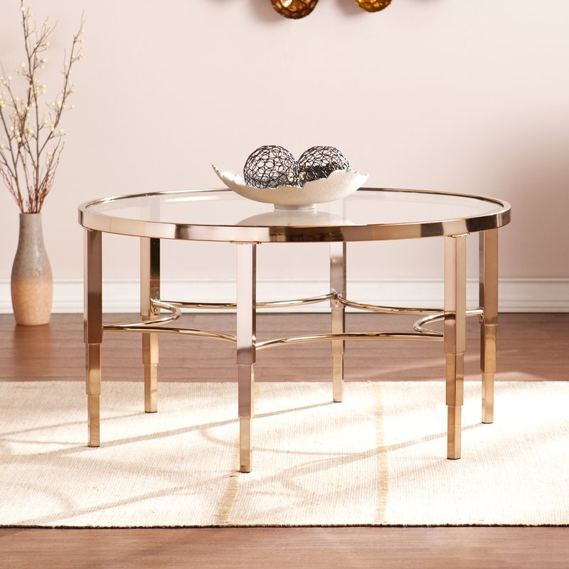 Stunning Preferred Large Low Level Coffee Tables Pertaining To Glass Coffee Tables Youll Love Wayfair (View 50 of 50)