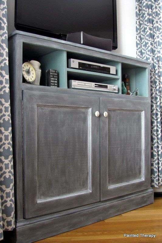 Stunning Preferred Painted Corner TV Cabinets Inside Best 25 Tall Corner Tv Stand Ideas On Pinterest Tall (View 37 of 50)