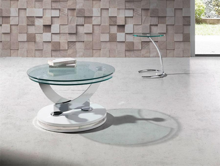 Stunning Preferred Round Chrome Coffee Tables For Round Glass Coffee Tables (Image 44 of 50)