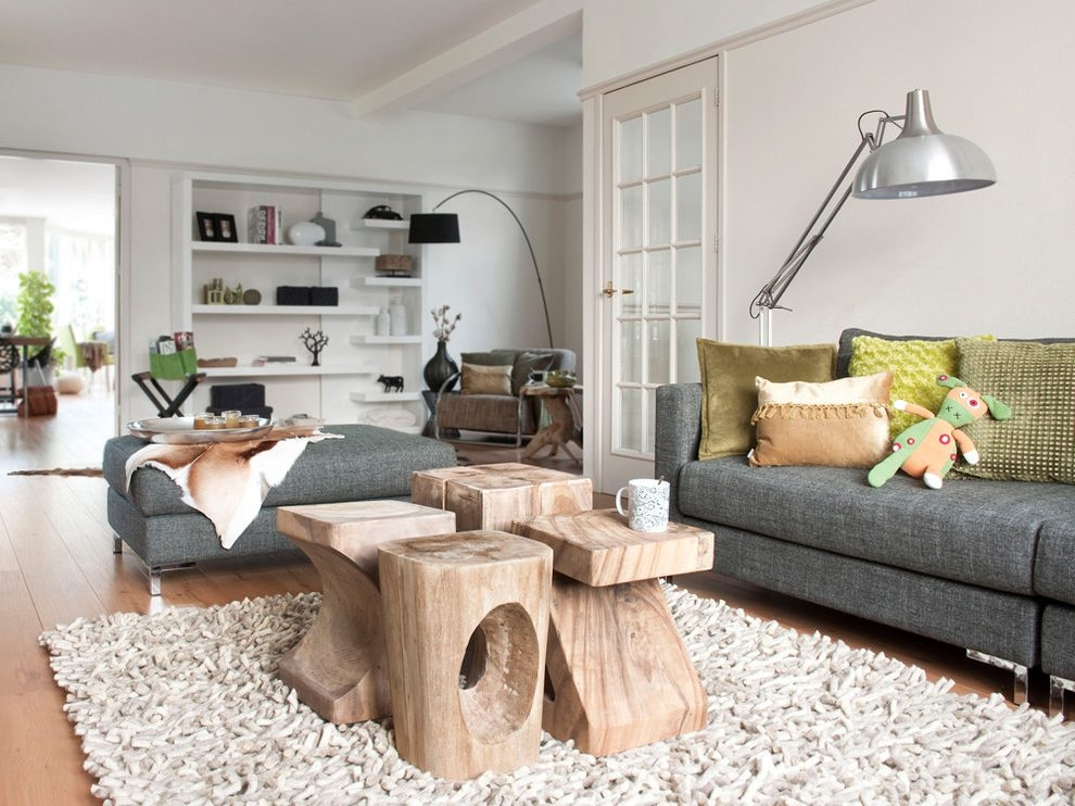 Stunning Premium Boho Coffee Tables With Regard To Boho Coffee Table Trunk Living Room Contemporary With Modern Sofa (View 30 of 50)