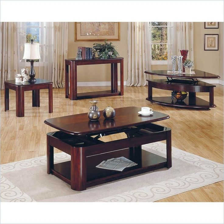 Stunning Premium Cherry Wood Coffee Table Sets Intended For 40 Best Coffeeoccasionalcocktail Tables Images On Pinterest (Image 46 of 50)