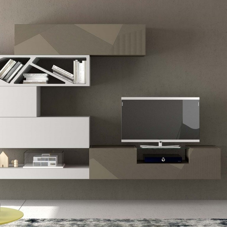 Stunning Premium Cream Gloss TV Stands Within Black High Gloss Media Unit Red High Gloss Tv Base Sj With Black (Image 46 of 50)
