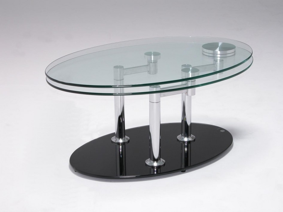 Stunning Premium Glass Chrome Coffee Tables Within Stylish Square Table Glass Table Top Chrome Frame Marvellous (Image 32 of 40)