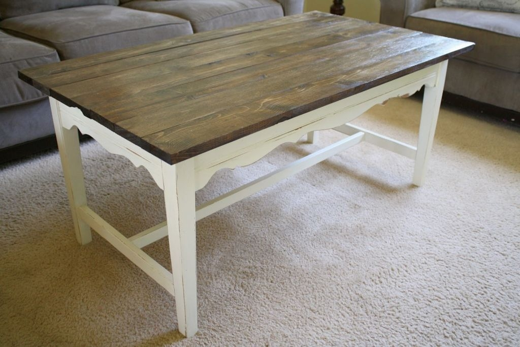 Stunning Premium Gray Wood Coffee Tables For Coffee Table Ideas On A Budget (Image 44 of 50)