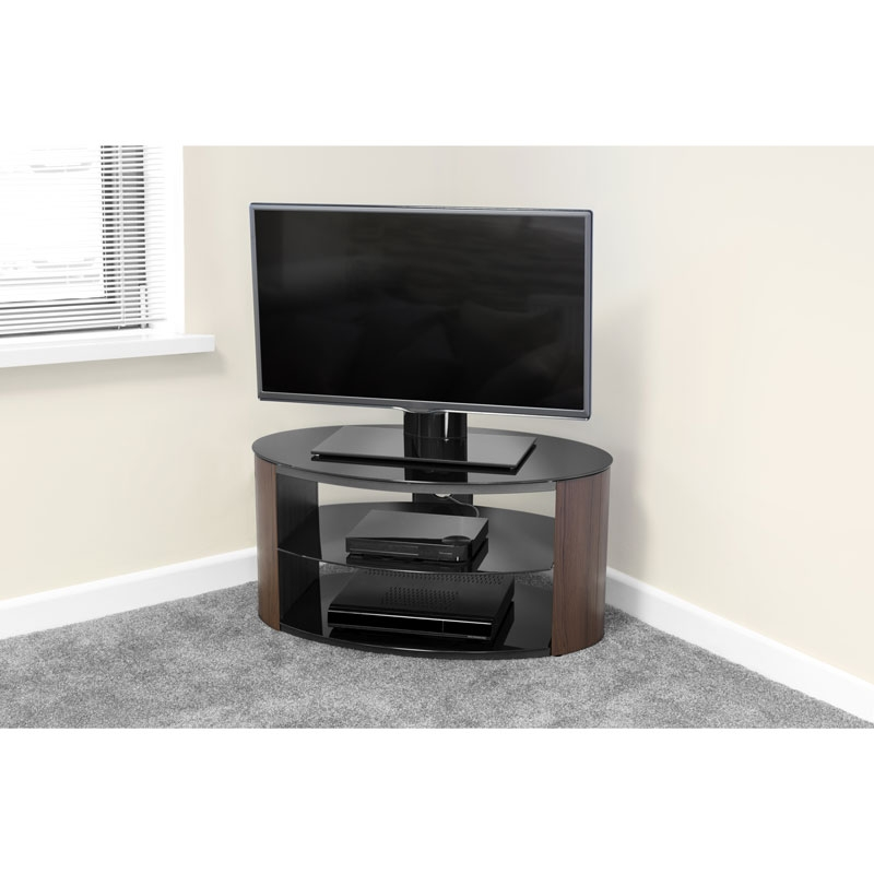 Stunning Premium Low Corner TV Cabinets Throughout Tv Stands Inspiring Corner Tv Stand Amazon Tv Stands And Cabinets (Image 45 of 50)