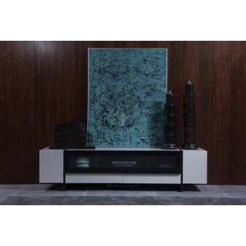 Stunning Premium Modern Black TV Stands Intended For Find Modern Tv Stands Contemporary Tv Stands Plasma Tv Stands (Image 42 of 50)