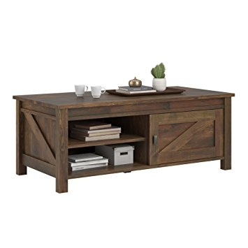 Stunning Premium Pine Coffee Tables Intended For Amazon Altra Furniture Farmington Century Barn Pine Coffee (View 30 of 50)