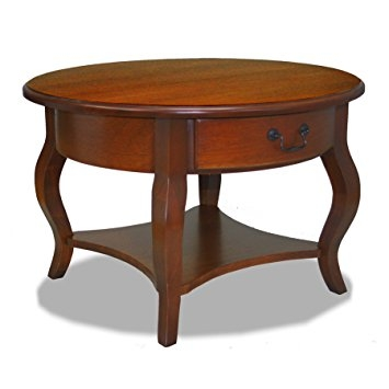 Stunning Premium Round Storage Coffee Tables In Amazon Leick French Countryside Round Storage Coffee Table (View 39 of 50)
