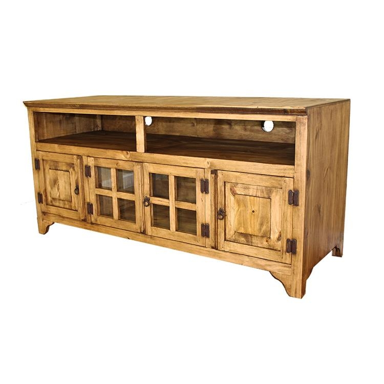 Stunning Premium Rustic Pine TV Cabinets Within Authentic Rustic Pine Tv Stands And Mexican Rustic Tv Stands (View 9 of 50)