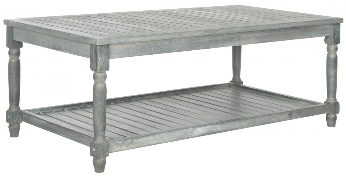 Stunning Premium Safavieh Coffee Tables Throughout Pat6726b Outdoor Home Furnishings Patio Tables Furniture (Image 48 of 50)