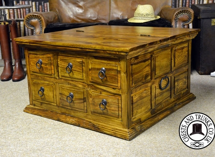 Stunning Premium Square Chest Coffee Tables Within Coffee Tables Ideas Wickers Coffee Table Storage Chest Square (View 25 of 50)