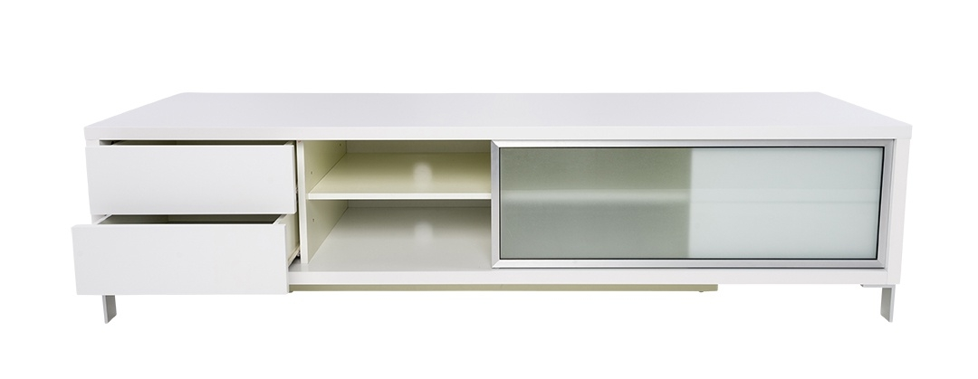 Stunning Premium TV Stands White For Contemporary White Epopee Tv Stand With Storage Space (View 35 of 50)