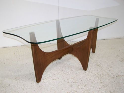 Stunning Premium Vintage Glass Coffee Tables Pertaining To Vintage Retro Mid Century Teak Glass Coffee Table Astro Gplan 50s (Image 46 of 50)
