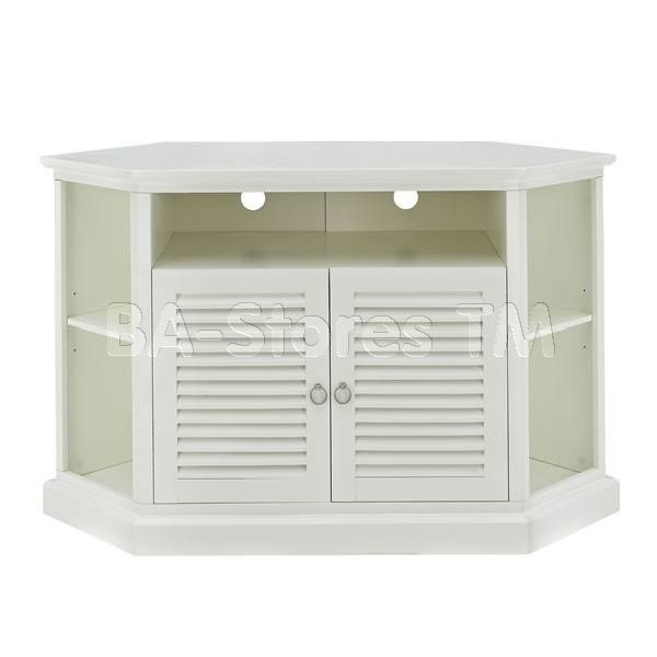 Stunning Premium White Small Corner TV Stands In Tv Stands Plasma Stands Traditional Modern Tv Stands And (Image 38 of 50)