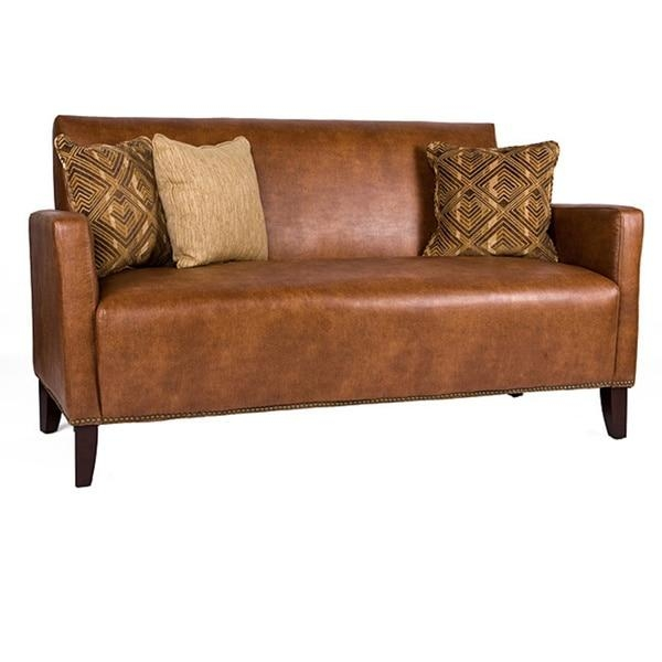 Stunning Saddle Brown Leather Sofa Graydon Park Dark Saddle Brown With Regard To Benchcraft Leather Sofas (Image 17 of 20)