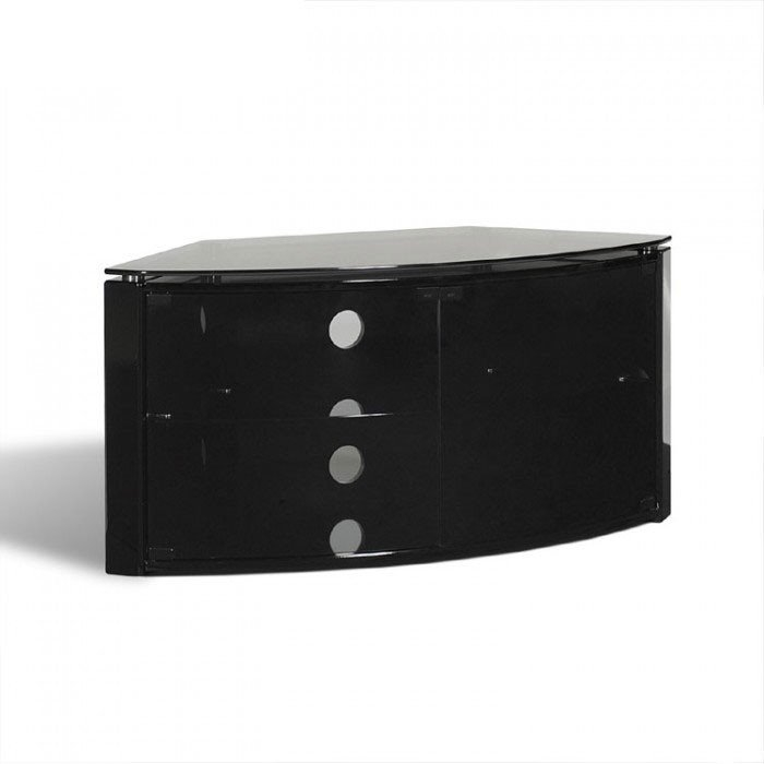 Stunning Series Of Black Corner TV Cabinets For Corner Tv Stands Uk Corner Tv Furniture (View 34 of 50)