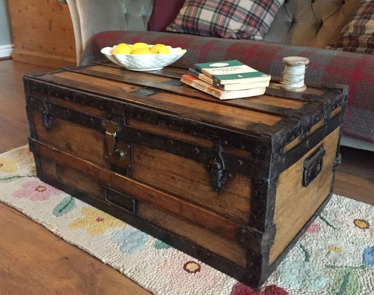 Stunning Series Of Dark Wood Chest Coffee Tables Throughout Living Room Best Coffee Table Stunning Chest In Your About Trunks (Image 46 of 50)