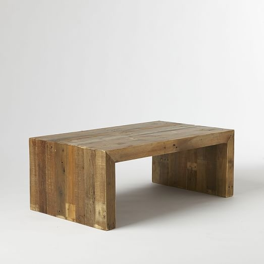 Stunning Series Of Reclaimed Wood Coffee Tables With Regard To Emmerson Reclaimed Wood Coffee Table West Elm (View 5 of 50)