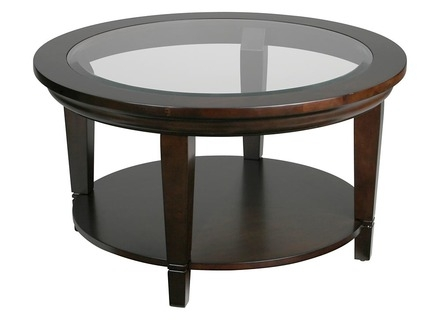 Stunning Series Of Round Glass And Wood Coffee Tables Inside Wood Coffee Table Glass Top Jerichomafjarproject (Image 40 of 50)