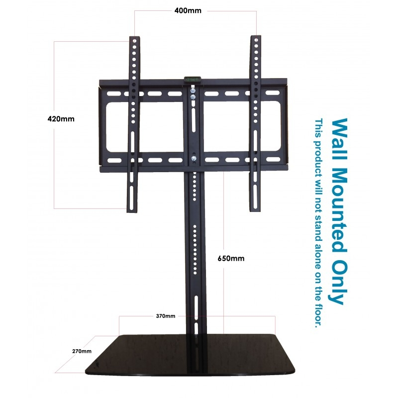 Stunning Series Of Stands Alone TV Stands For Hdl 236f 1 New Tv Wall Bracket 20 52 With Glass Floating Dvd (Image 44 of 50)