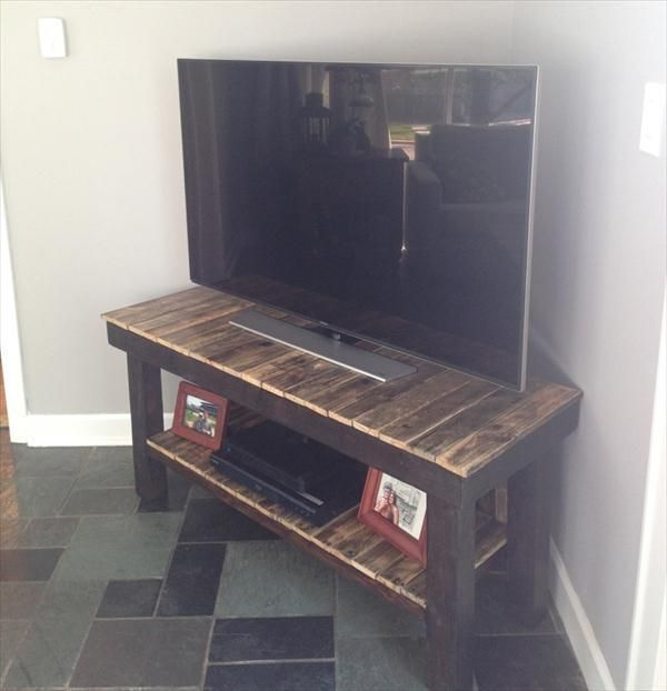 Stunning Series Of Stands Alone TV Stands In Best 25 Pallet Tv Stands Ideas Only On Pinterest Rustic Tv (Image 45 of 50)