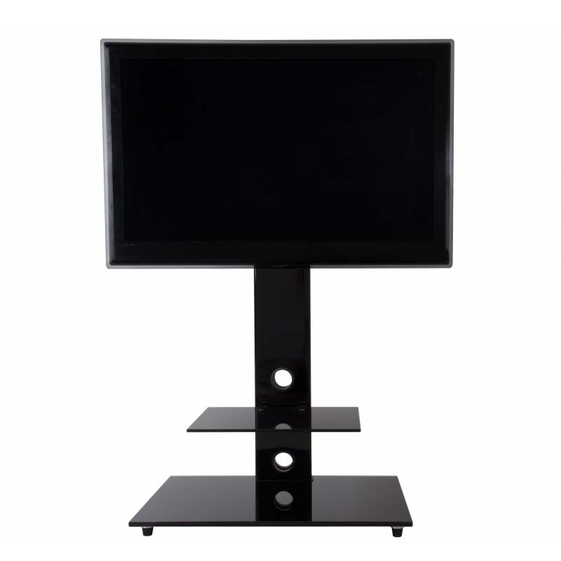 Stunning Series Of TV Stands For 55 Inch TV Inside Avf Lesina 32 To 55 Inch Tv Stand With Attached Mount Black (Image 46 of 50)
