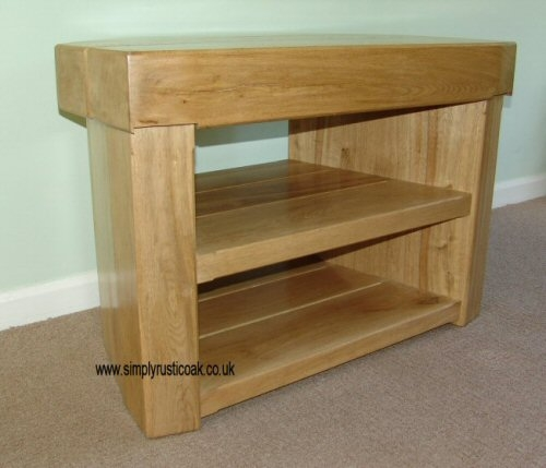 Stunning Series Of TV Stands In Oak With Corner Oak Tv Unit Medium Image For Gallery Of Wooden Tv Stand (Image 44 of 50)