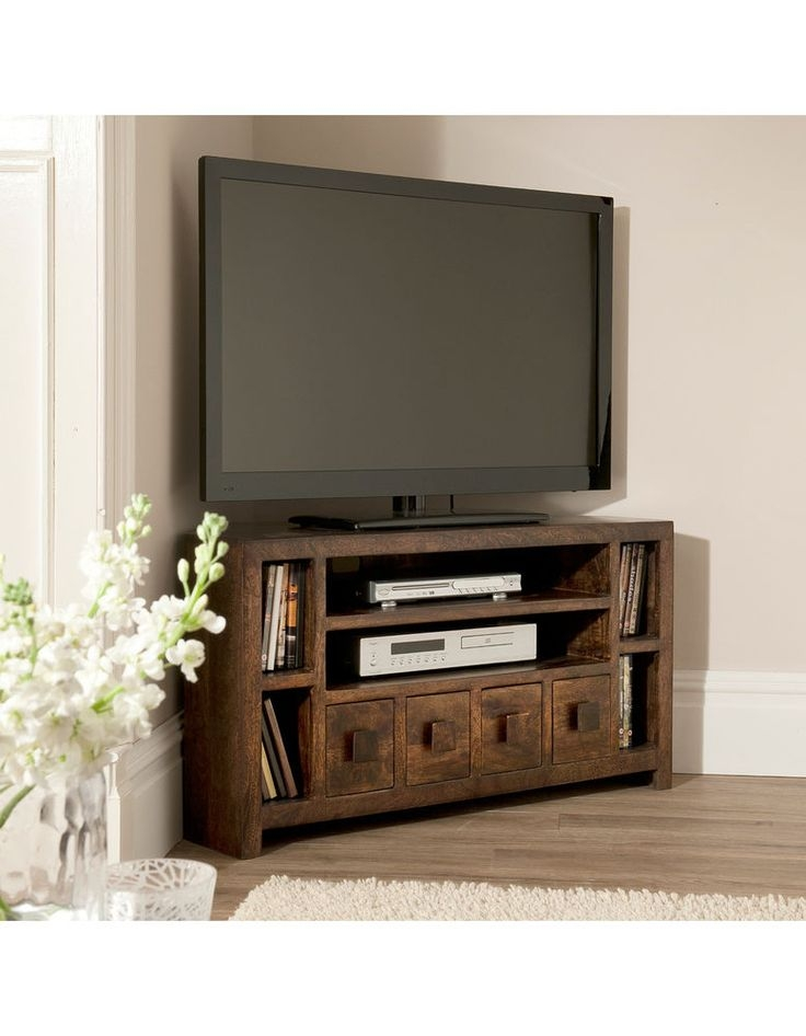 Stunning Top Large Corner TV Stands In Best 25 Corner Tv Cabinets Ideas Only On Pinterest Corner Tv (View 40 of 50)