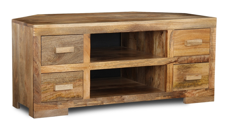 Stunning Top Mango Wood TV Stands For Mango Light Corner Tv Unit Trade Furniture Company (Image 46 of 50)