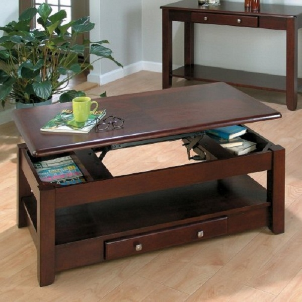 Stunning Top Pull Up Coffee Tables With Pull Up Coffee Table Facil Furniture (Image 43 of 50)
