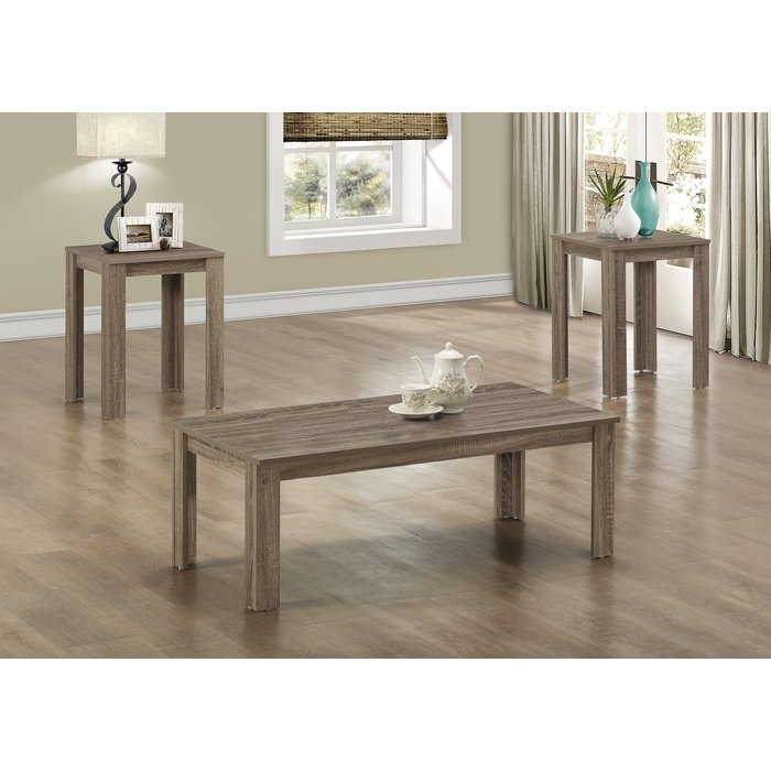 Stunning Top Wayfair Coffee Table Sets Pertaining To Living Room The Monarch Specialties Inc 3 Piece Coffee Table Set (Image 42 of 50)