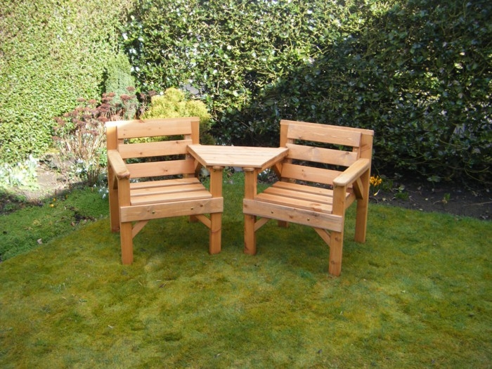 Stunning Top Wooden Garden Coffee Tables For Garden Chair In Wood And Other Seating Furniture For Outdoor Use (Image 46 of 50)