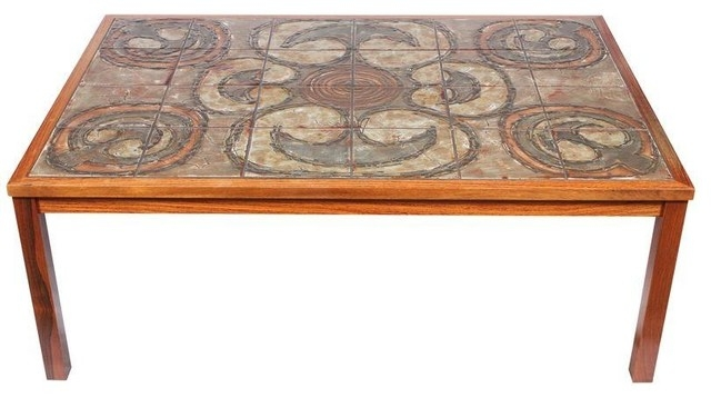 Stunning Trendy Art Coffee Tables Regarding Vintage Ox Art Coffee Table Modern Coffee Tables Chairish (Image 47 of 50)