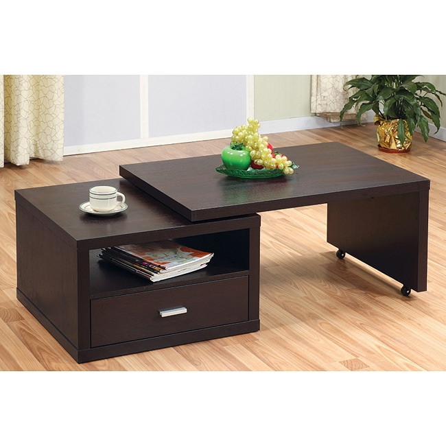 Stunning Trendy Coffee Tables Extendable Top Within Extendable Coffee Table (Image 42 of 50)