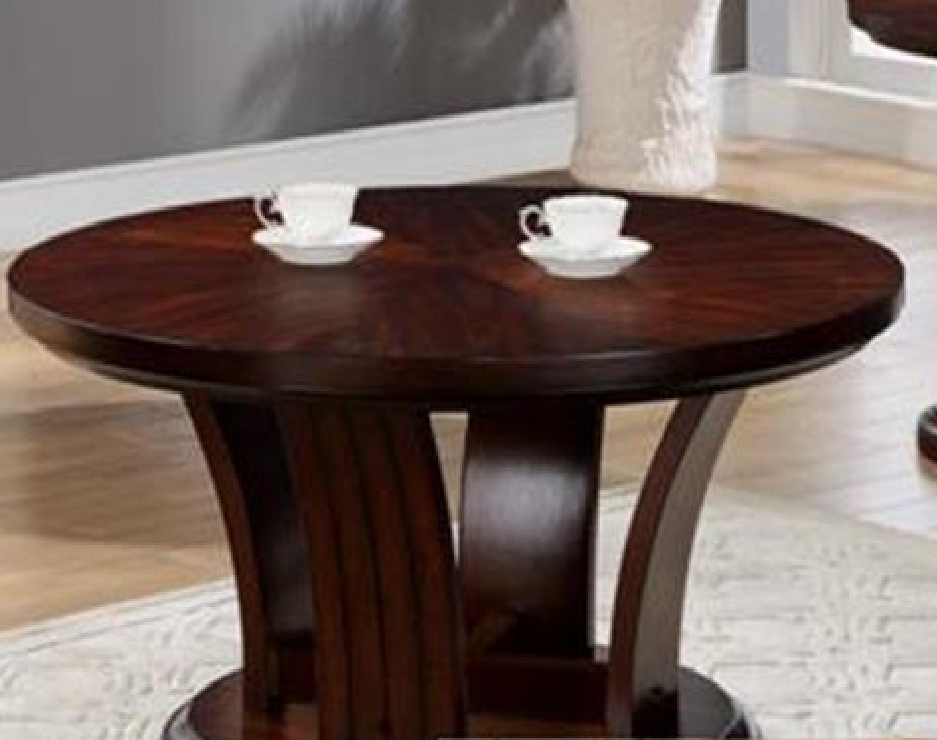 Stunning Trendy Espresso Coffee Tables Regarding 4234 01 Daria Espresso Coffee Table Wcaster (View 47 of 50)