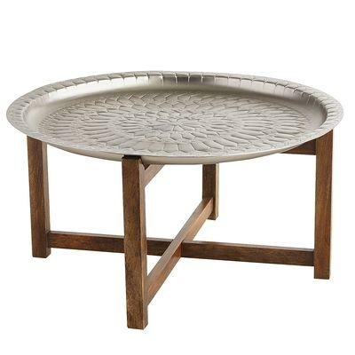 Stunning Trendy Round Tray Coffee Tables Within Silver Tray Coffee Table Products Bookmarks Design (Image 45 of 50)