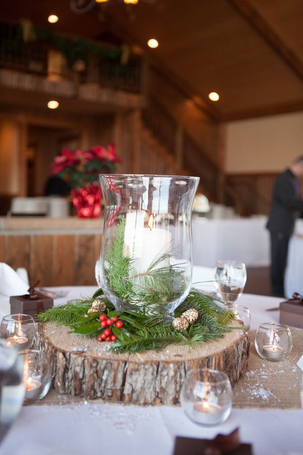 Stunning Trendy Rustic Christmas Coffee Table Decors Inside Best 25 Christmas Centerpieces Ideas Only On Pinterest Holiday (Image 46 of 50)