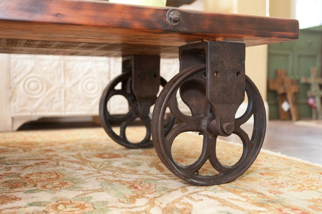 Stunning Trendy Rustic Coffee Table With Wheels Regarding Rustic Coffee Table With Wheels 24 X 48 Rustic Coffee Table With (Image 46 of 50)