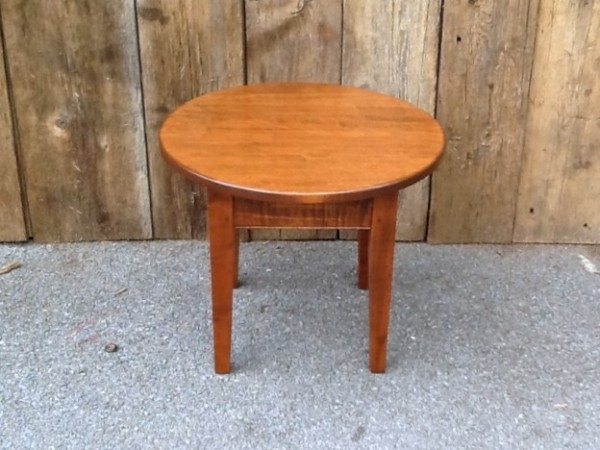 Stunning Trendy Small Coffee Tables With Regard To Coffee Table Maple Small Round Shaker Coffee Table Nutmeg Maple (View 9 of 50)