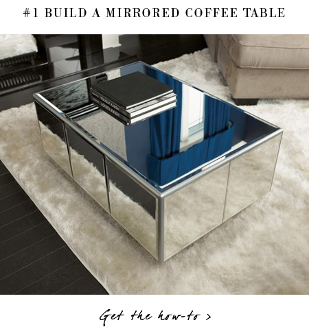 Stunning Trendy Small Mirrored Coffee Tables Intended For 5 Diy Projects For The Weekend Warrior Erika Brechtel (View 30 of 50)