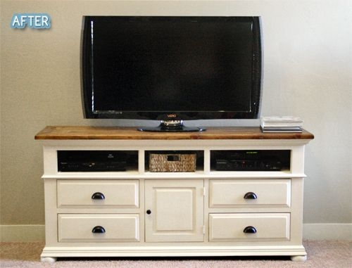 Stunning Trendy Small TV Stands For Top Of Dresser Intended For Best 25 Dresser Tv Stand Ideas On Pinterest Furniture Redo Diy (View 7 of 50)