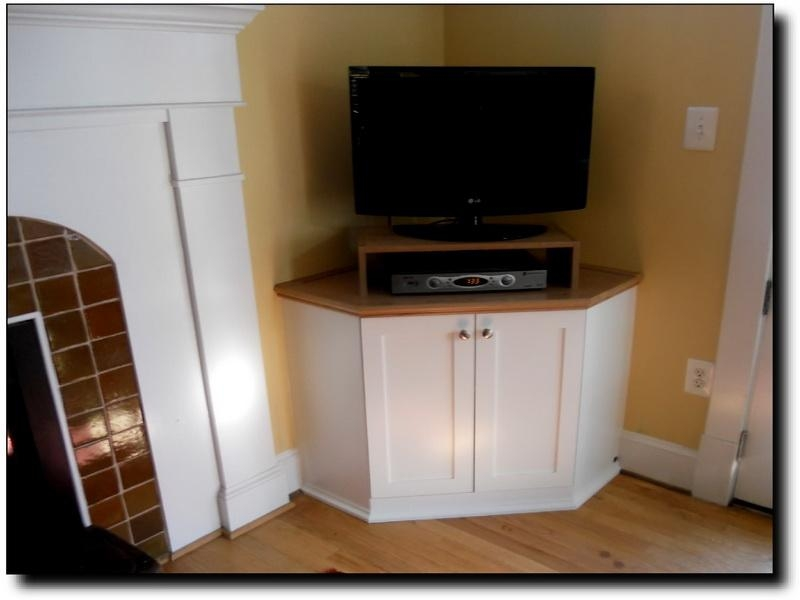 Stunning Trendy Tall TV Cabinets Corner Unit In Built In Corner Cabinet (Image 40 of 50)
