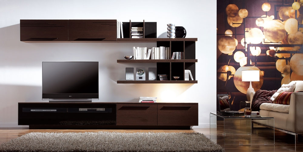 Stunning Trendy Wenge TV Cabinets With Regard To Contemporary Tv Cabinets Wonderful 18 Cado Modern Furniture Tv (Image 47 of 50)
