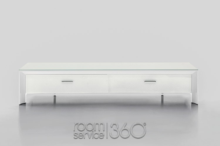Stunning Trendy White Glass TV Stands With Miami Modern Italian Glass Tv Stand Tonin Casa (Image 48 of 50)