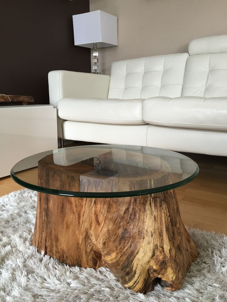 Stunning Trendy Wooden Trunks Coffee Tables With Top 25 Best Tree Stump Coffee Table Ideas On Pinterest Tree (View 27 of 40)
